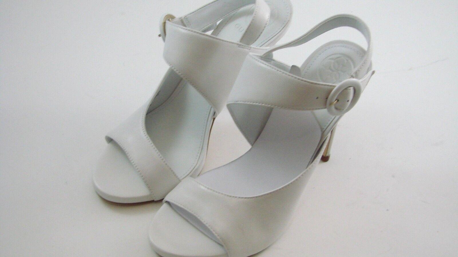 GUESS White Women's Tyson Shoes Tyson Women's Asymmetrical Sandals  Size 7.5 M hat28-519 $99 2e4a8d