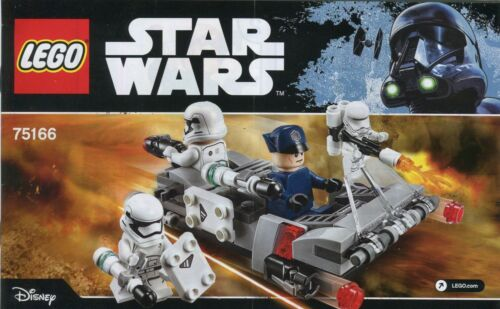 Lego Star Wars 75166 Transport Speeder Instruction Manual BOOKLET Only