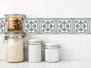 Fliesen überkleben Küche fliesenaufkleber fliesen überkleben bad und küche ornamente weiß
