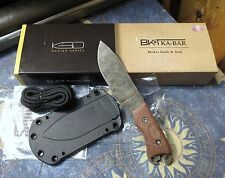 CUSTOM Ka-Bar Becker Necker BK11 Fixed Blade Neck Knife 1095 Cro-Van