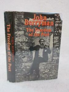 John-Berryman-THE-FREEDOM-OF-THE-POET-1976-Farrar-Straus-amp-Giroux-NY-1stEd