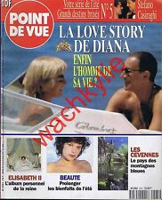 Point de vue n°2561 du 20/08/1997 Lady Diana Dodi Al-Fayed château Bazoches