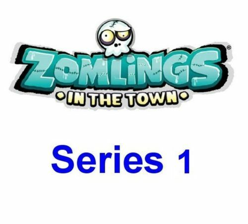 Zomlings in the Town  Series 1  LOADS TO CHOOSE FROM  Some Rare's