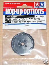 Tamiya 54219 TRF201 48 Pitch Spur Gear (77T) (TRF211/TRF502X/DB02/DN01), NIP