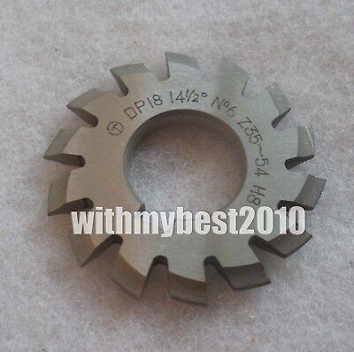 Lot 1pcs Dp18 14-1//2 degree 5# Involute Gear Cutters No.5 Dp18 Gear Cutter