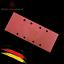 10x Schleifpapier für Schleifmaschine 93mmx230mm 8-Löcher Körnung 120