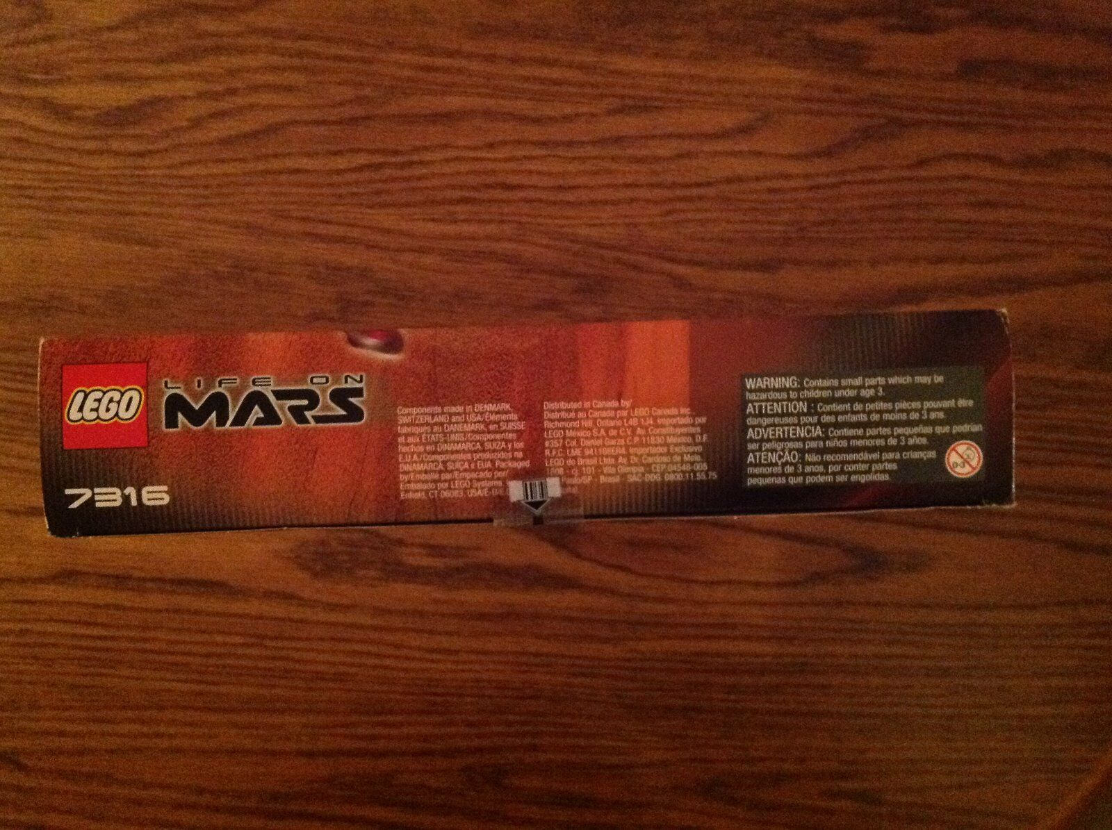 LEGO Life on on on Mars 7316 Excavation Searcher - NIB 190192