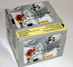 Panini-CHAMPIONS-LEAGUE-2001-2002-01-02-DISPLAY-BOX-50-TUTEN-PACKETS-SOBRES