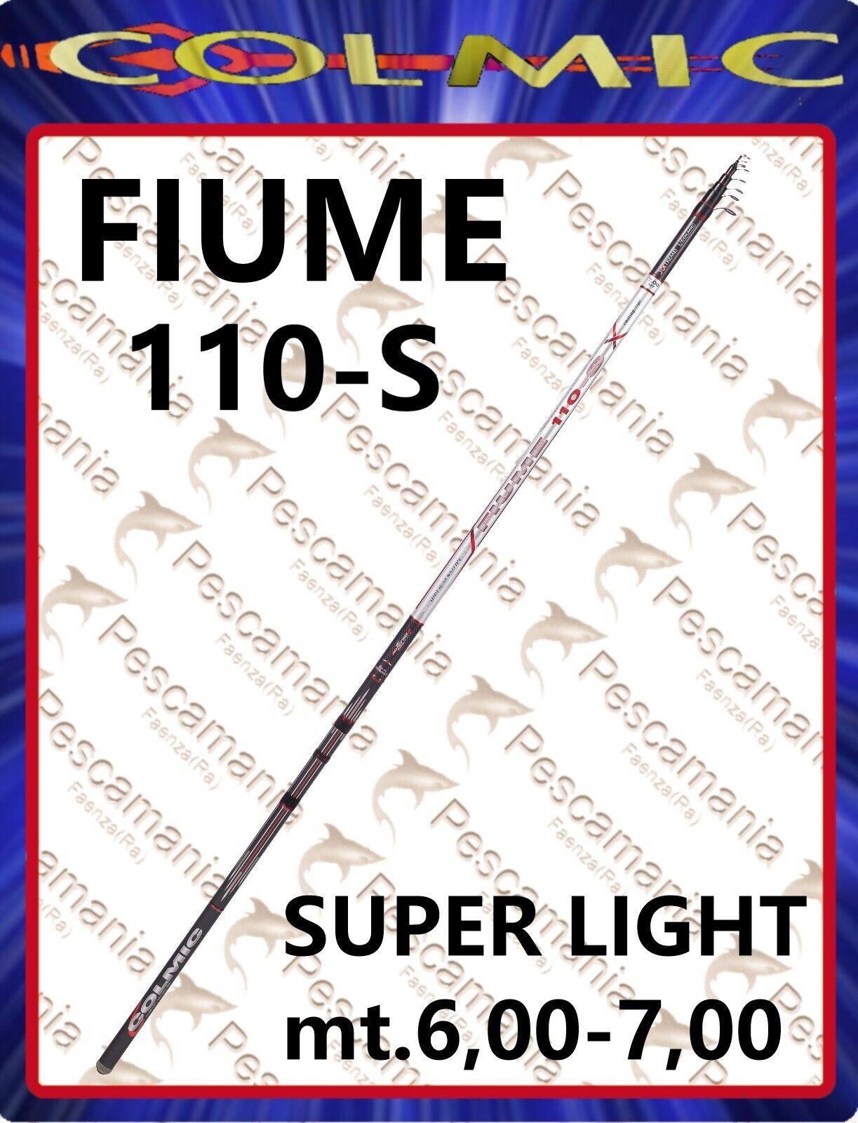 Canna Colmic Fiume XXT 110 bolo passata passata passata bolognese super light d3b077