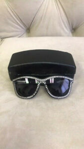 LINDA-FARROW-X-ALEXANDER-WANG-Black-Zipper-Motif-AW-3-10-Sunglasses