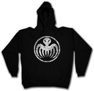 Logo cappuccio con Stavro Felpa James Ernst Spectre Felpa cappuccio Blofeld Symbol Bond con OnHFFwqU