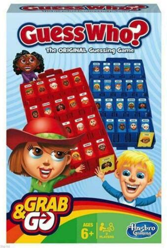NEW HASBRO GRAB /& GO GAMES CLASSIC TRAVEL HOLIDAY PORTABLE BOARD ON THE MOVE