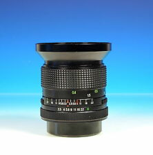 Vivitar 28mm / 2.5 Auto Wide Angle für Canon FD Objektiv lens objectif - 101945