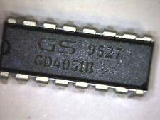GD4051B Analog Multiplexer DIP-16