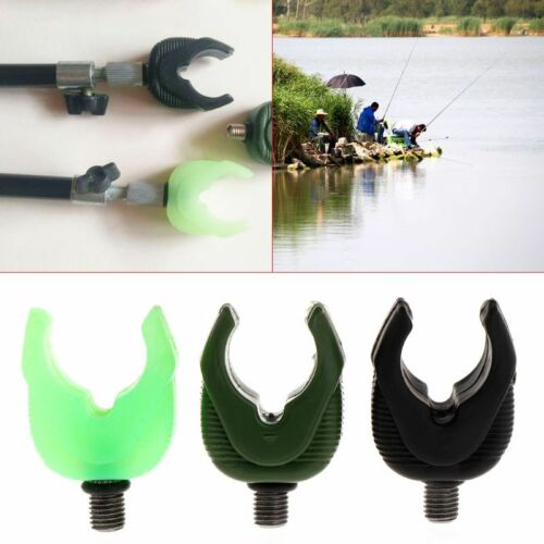 Fishing Rod Holder Head Fluorescent Green Support Adapter Universal Pole Rest