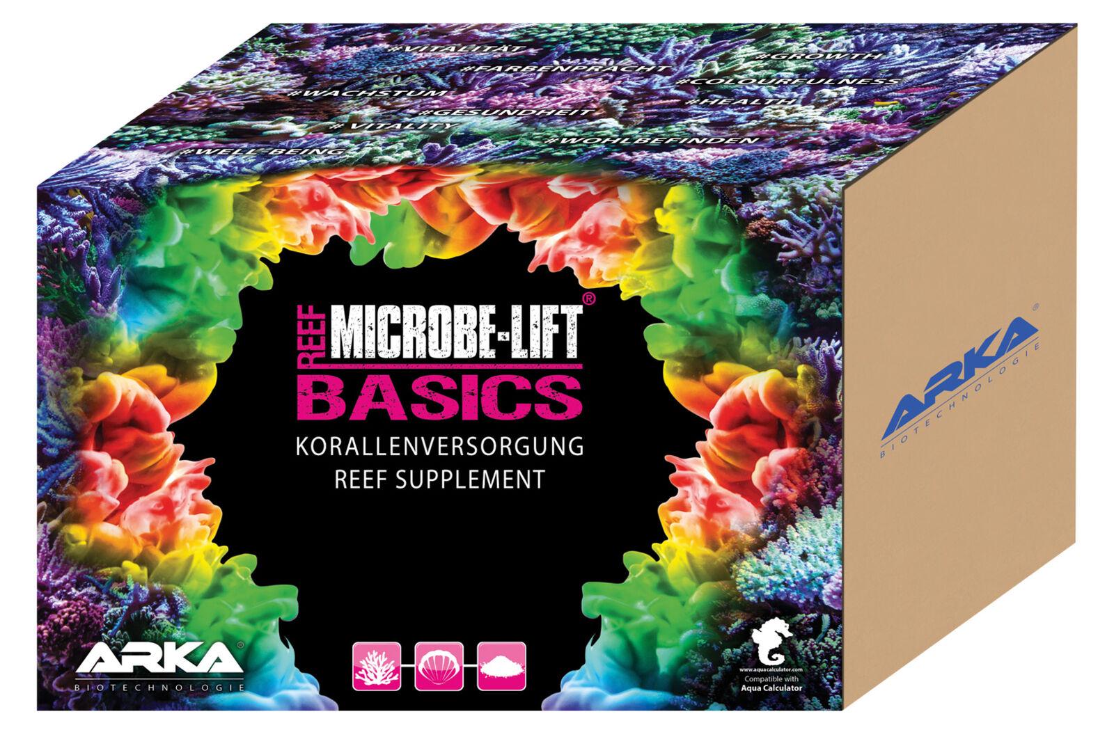 MICROBE-LIFT BASIC Set groß Komplettset Versorgung für Ihre Korallen