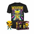 Funko POP! Marvel X-Men Wolverine Blacklight Collector's Box with T-Shirt - Black, Large
