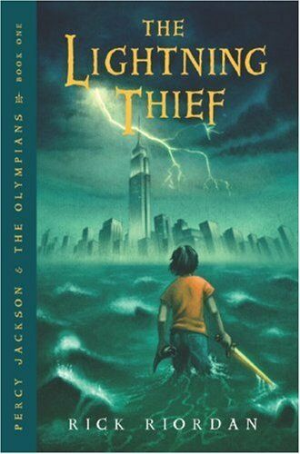 1 of 1 - The Lightning Thief (Percy Jackson and the Olympians, Book 1) by Rick Riordan