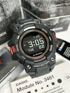 Casio G-Shock * GBD100-1 G-Squad Bluetooth Mobile Link Black Resin Watch