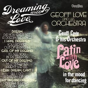 Geoff Love Orchestra - Latin with Love & Dreaming with Love MFP 1970s CD