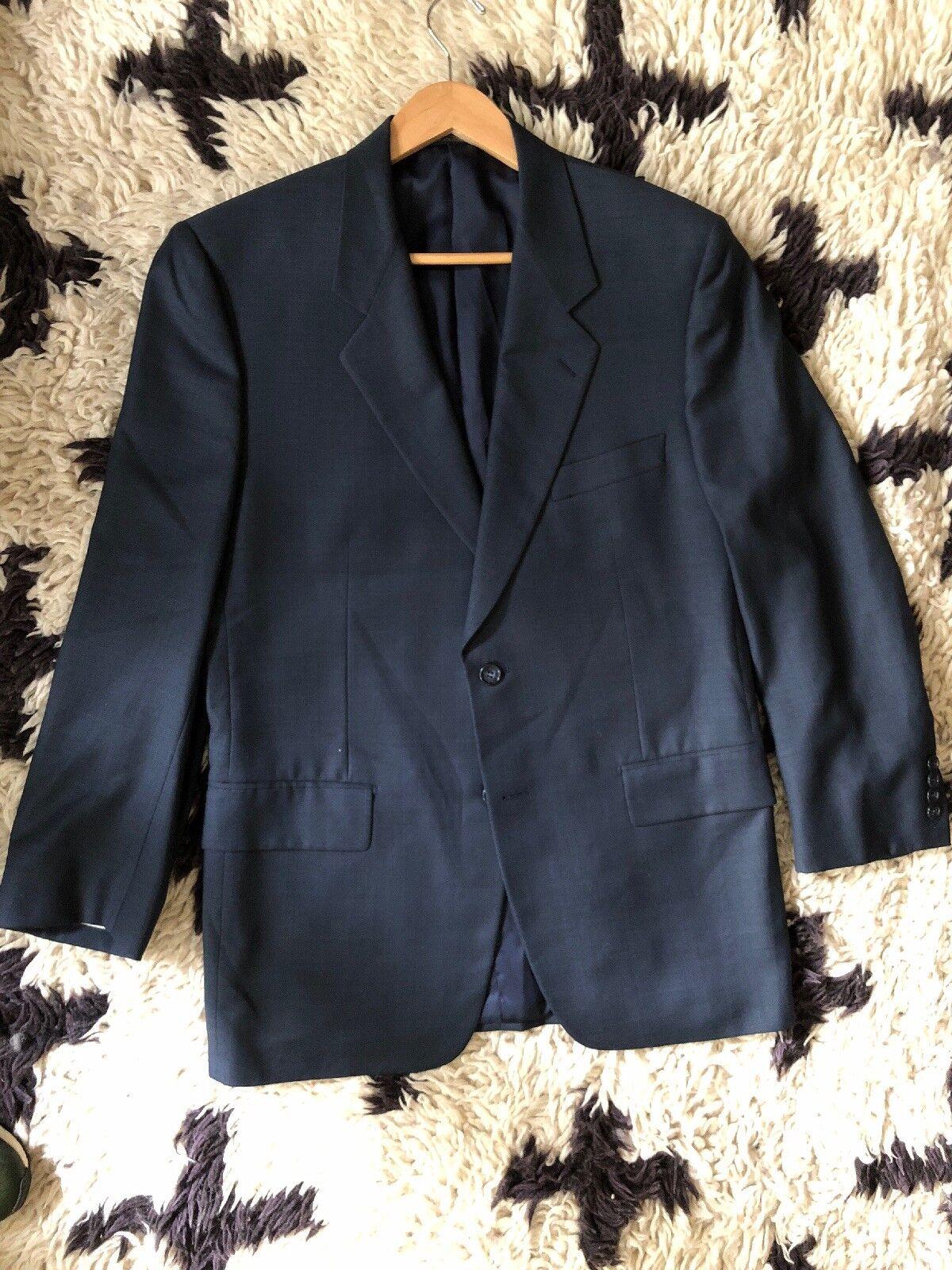 Navy Blau Corneliani Suit - 100% Wool - 40R 34x29