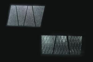Ricambio vetro per lampada esterni giardino illuminazione da