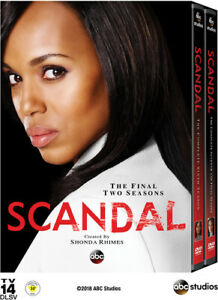 Scandal-The-Complete-Sixth-and-Seventh-Seasons-Seasons-6-7-8-Disc-DVD-NEW
