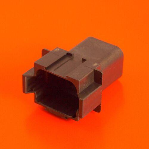 Deutsch DT Series 8 Way Socket Connector Kit DT04-8PA-CE02 Pins /& Wedglock