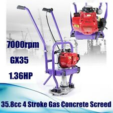 Gx35 358cc 4 Stroke Gas Concrete Wet Screed Power Screed Cement 6m Board New