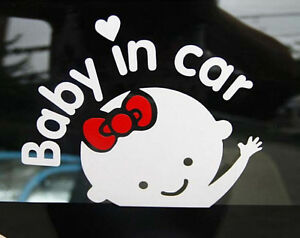 Cute-Baby-In-Car-Art-Vinyl-Window-Car-Removable-Mural-Decal-Wall-Decor-Sticker