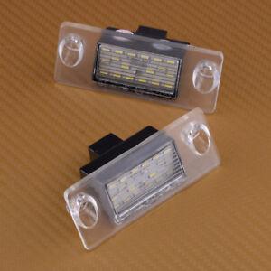 18-LED-Eclairage-de-plaque-feux-Licence-lampe-arriere-pour-Audi-A4-B5-1995-2001