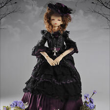 Dollmore 1/4 BJD doll clothes outfits MSD - Sodam Gibson Dress Set (D.Violet)