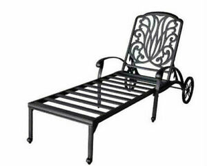 Fine Outdoor Chaise Lounge Elisabeth Cast Aluminum All Weather Patio Furniture Bronze Forskolin Free Trial Chair Design Images Forskolin Free Trialorg