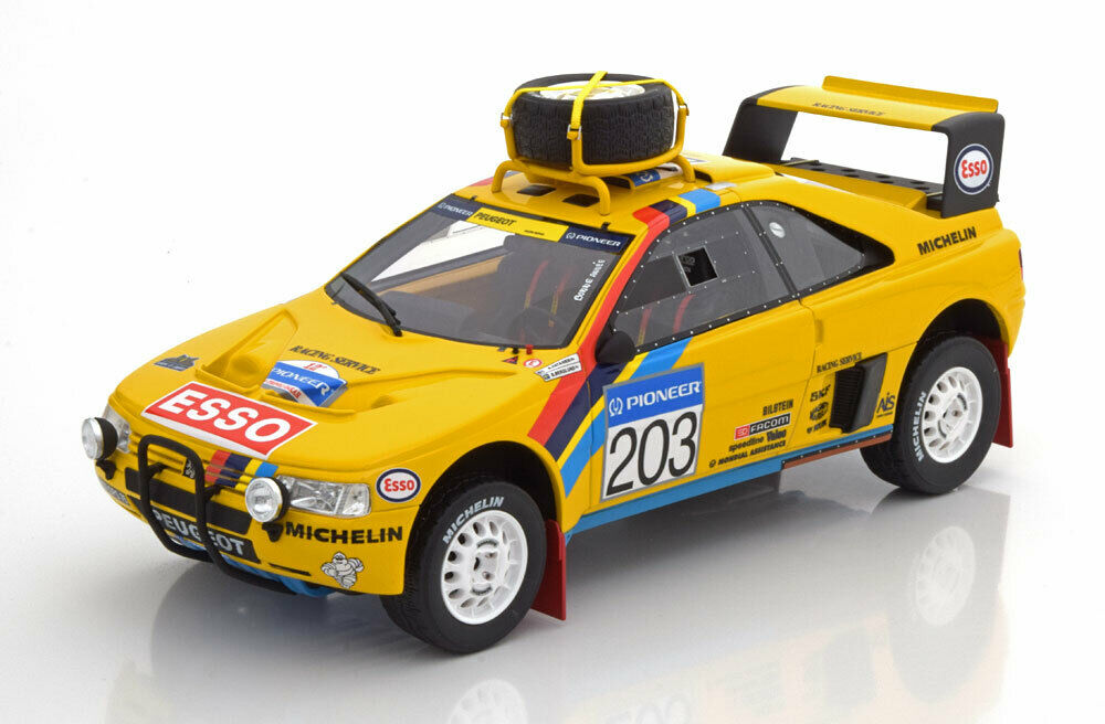 Otto Mobile PEUGEOT 405 T16 Grand Raid Winner Rallye Paris-Dakar 1990  203 1 18