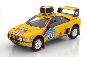 Otto Mobile Peugeot 405 T16 Grand Raid Gagnant Rally Paris-dakar 1990 #203 1/18