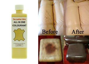 Leather-ALL-IN-ONE-Dye-Paint-Repair-Kit-for-Worn-amp-Scratch-Restoring-ALL-COLOURS