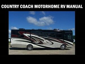 country coach rv motorhome service manual 520pg w operation rh ebay com Small RV Motorhomes Class A RV