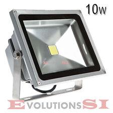 FOCO LED EXTERIOR 10 WATIOS LAMPARA PARED BAJO CONSUMO 10W JARDIN GARAJE A
