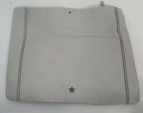 Ash Chain Handbag Domino Leather Up Fold Over Soft Clutch Zip Gray250 Drape xhdCBrotsQ