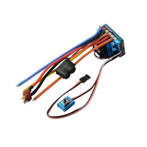 120A ESC Sensor Brushless Speed Controller for 1:8 1:10 RC Car//Truck Crawler Toy