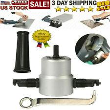 Metal Cut 2MM Double Head Sheet Nibbler Saw Cutter Tool Drill Multipurpose AHS