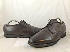 Mens-ALLEN-EDMONDS-Brown-Leather-Loafers-Casual-Dress-Shoes-SIZE-9-D