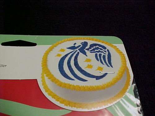XMAS  Angel Wilton Cake Stencil Template Wilton NEW Reusable