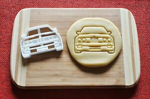 Details About Bmw E30 M3 Front View Cookie Cutter Biscuit Stamp Cake Topper Fondant