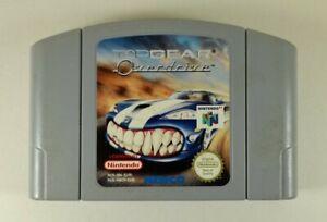 Top Gear Overdrive (1998, N64 Nintendo 64) PAL CARTUCHO sólo