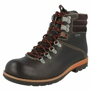 51579cd3bd8 Details about Clarks Mens ** Padley Alp Gtx ** Brown Lea ** Hiking Boot **  UK 7,8,9,10,11 G