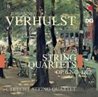 Verhulst String Quartets Op. 6 No 1 and 2 Audio CD