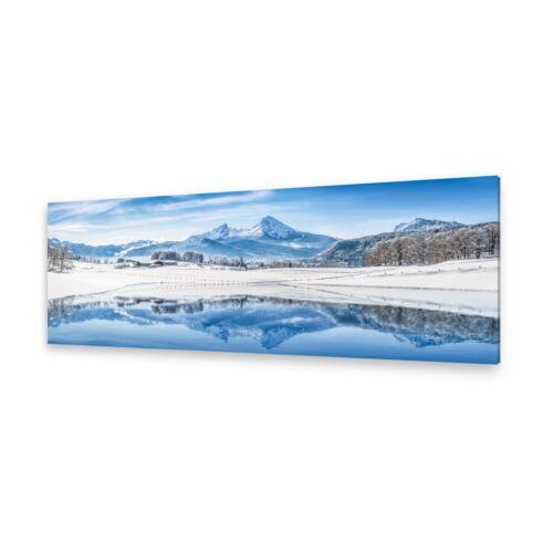 Leinwand-Bilder Wandbild Druck auf Canvas Kunstdruck Winter Alpen