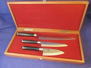 Asian knife set red box