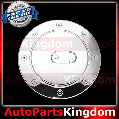 00-06 GMC Yukon+XL Triple Chrome Plated ABS GAS TANK FUEL Door Cover TRIM SUV